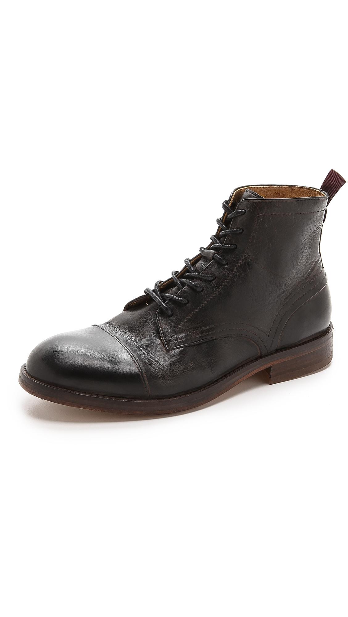 Lyst H By Hudson Garrod Chukka Boots In Black For Men