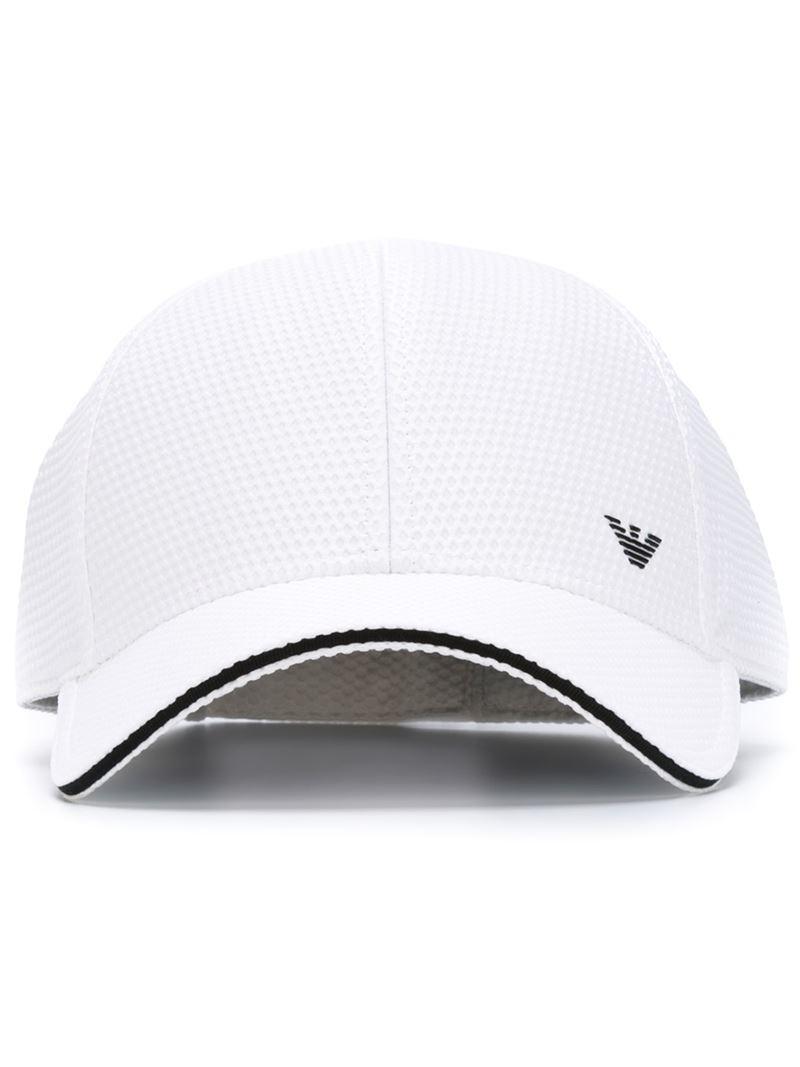 3bd0f267e2c Lyst emporio armani baseball cap in white for men jpg 800x1067 Armani caps