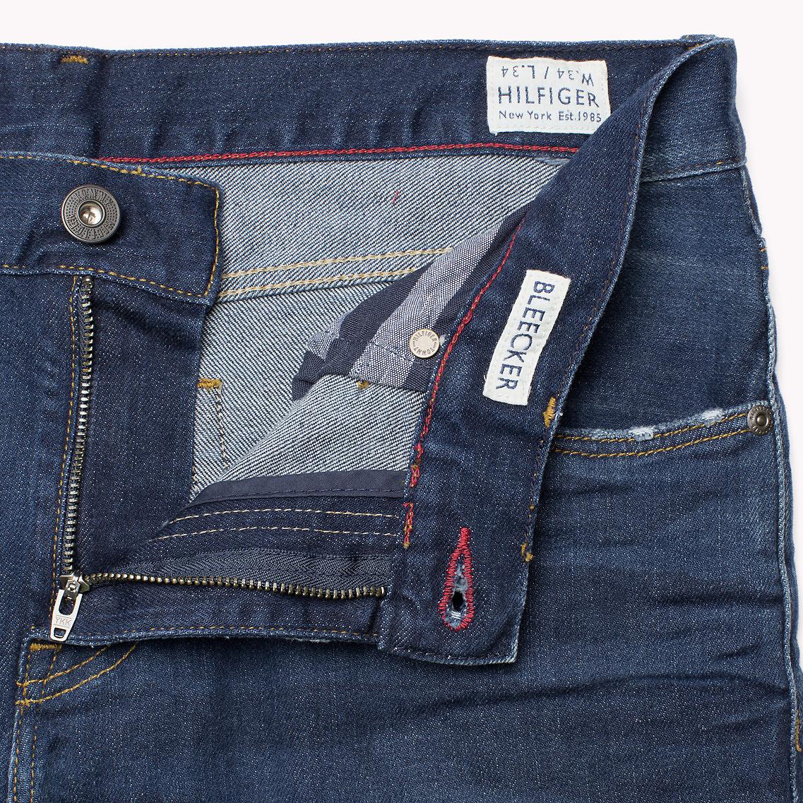 b24ae651 Tommy Hilfiger Bleecker Slim Fit Jeans In Blue For Men Lyst