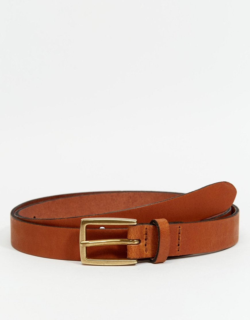 Find skinny brown leather belt at ShopStyle. Shop the latest collection of skinny brown leather belt from the most popular stores - all in one place.