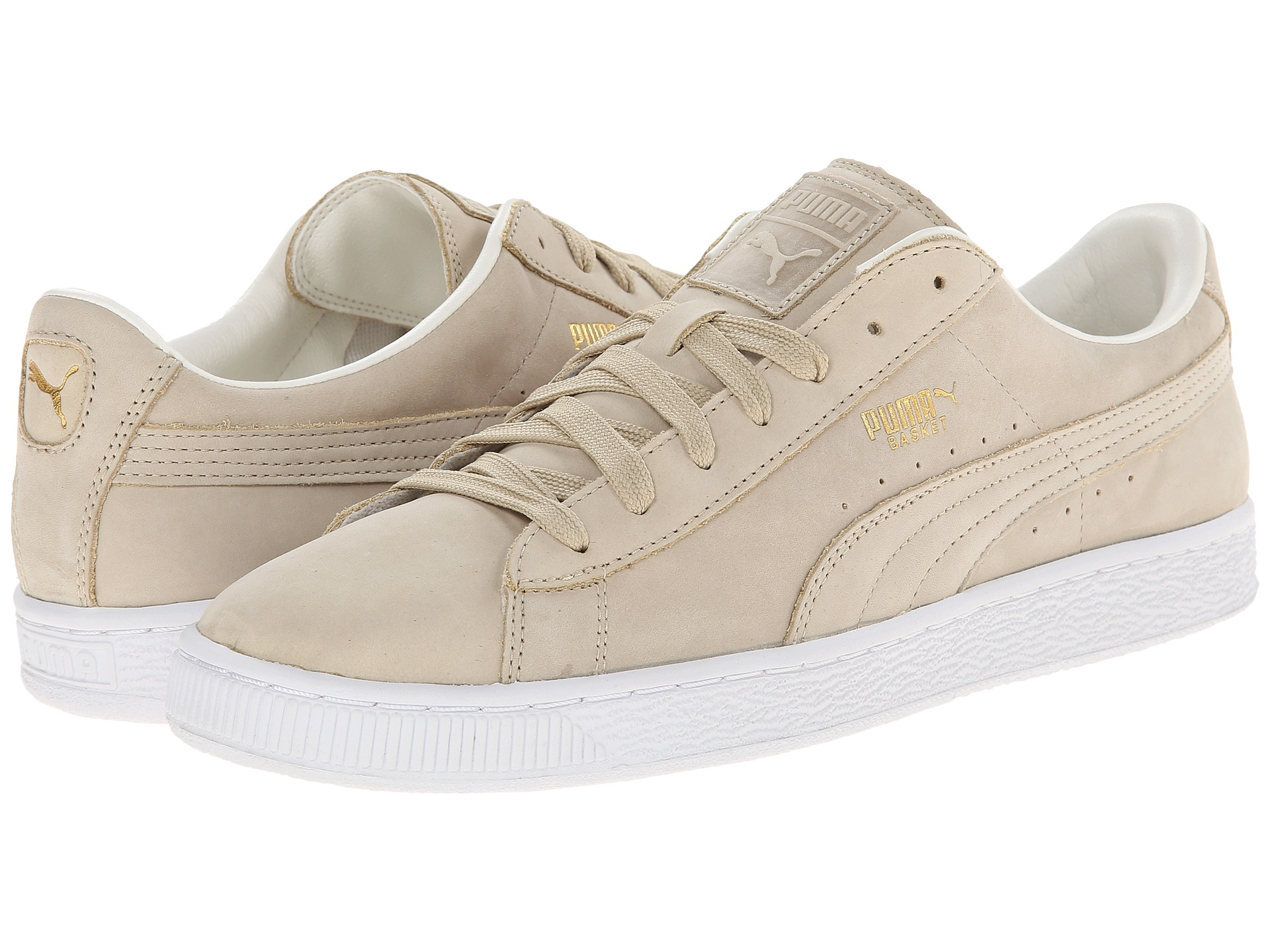 Puma Basket Citi Series NBK Beige Casual Shoes  Men