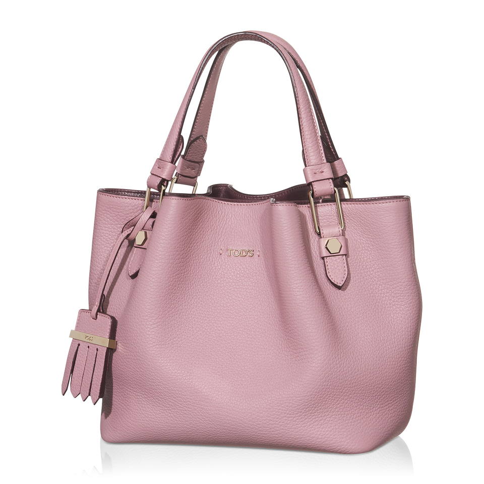 tod s mini flower bag in pink lyst