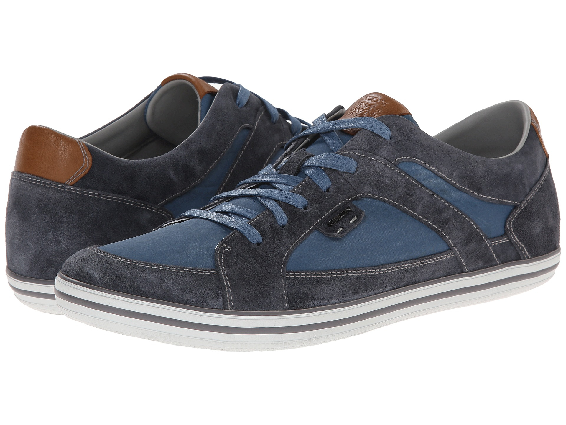 Mens U Box I Low-Top Sneakers, Navy Geox