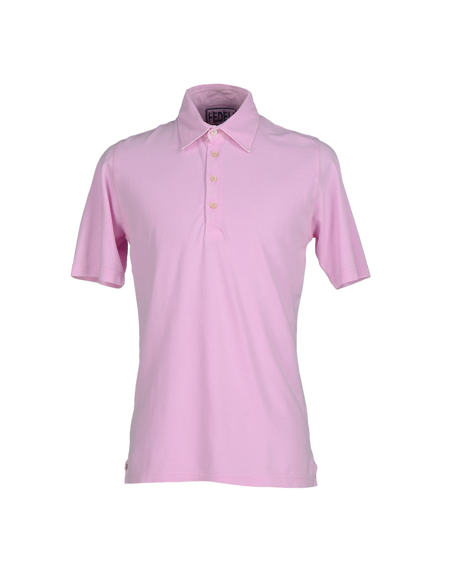 Fedeli Polo Shirt In Purple For Men Light Purple Lyst