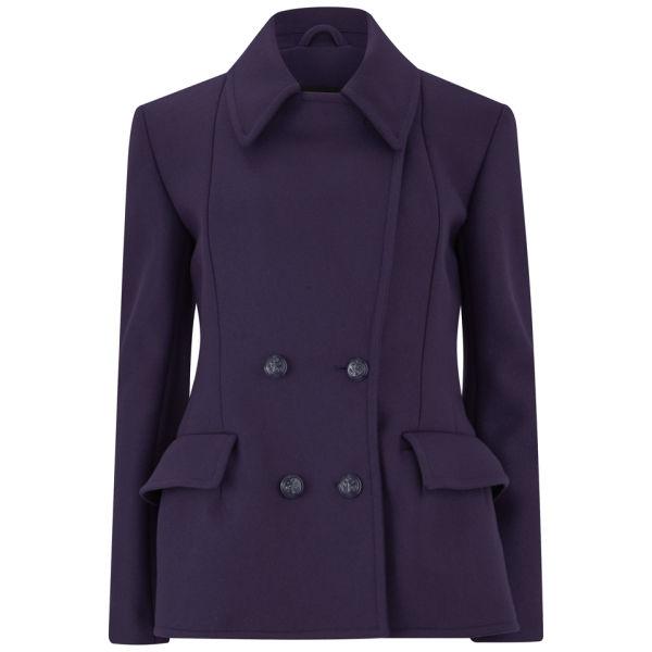 Mcq Women's Short Peacoat in Purple for Men | Lyst