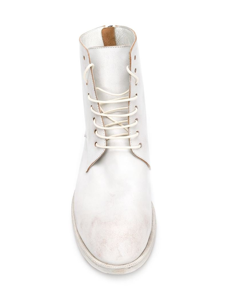 lace-up boots - White Mars wNrTSo