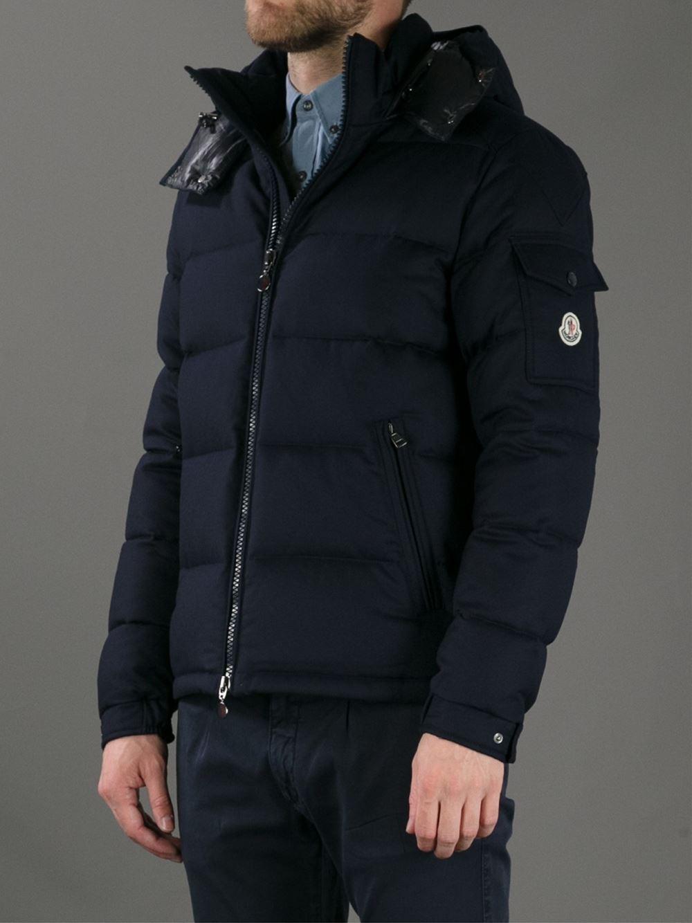 Moncler Montgenevre Padded Jacket In Black For Men Lyst