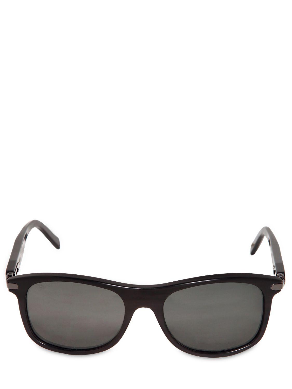 aaf36afb55 Lyst - Brioni Handmade Horn Sunglasses in Black for Men