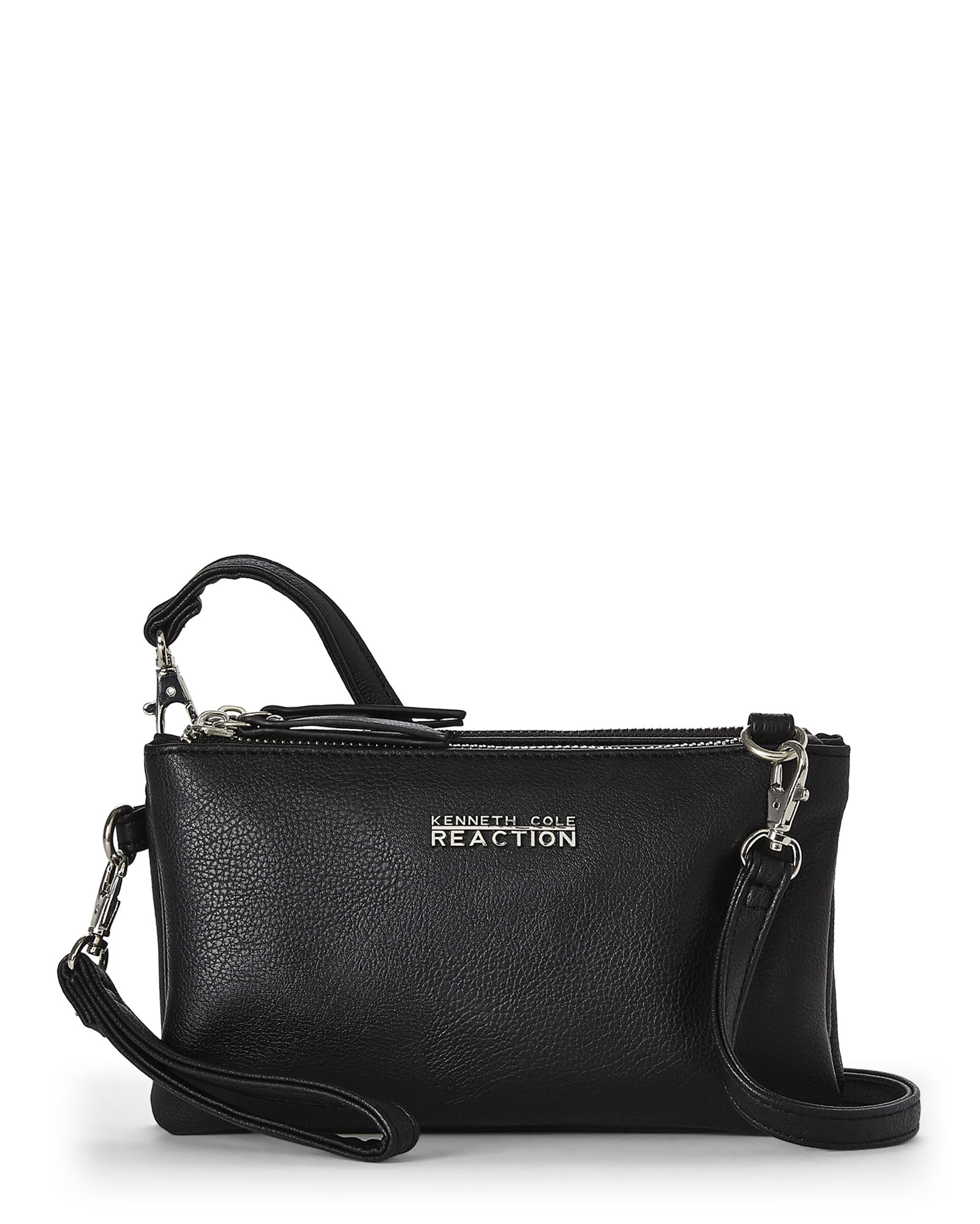 f8f85b470a Lyst - Kenneth Cole Reaction Black Double Trouble Crossbody in Black