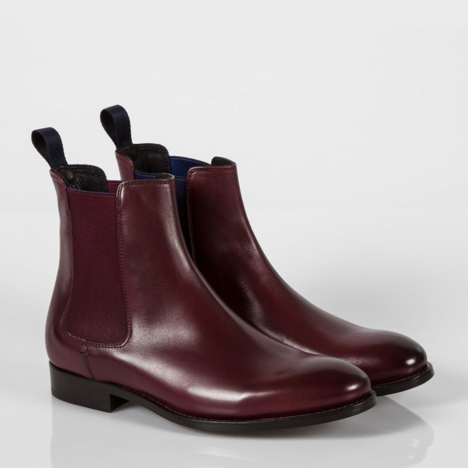 Popular Womens Tina Red Leather Chelsea Boots With Punched Brogue Detailing And Fringed Detail From Dr Martens Crafted From Twotone, Ruboff Leather, The Chelsea Boots Feature Elasticated Side Gores, A Side Zip Closure And A Slim AirWair Sole