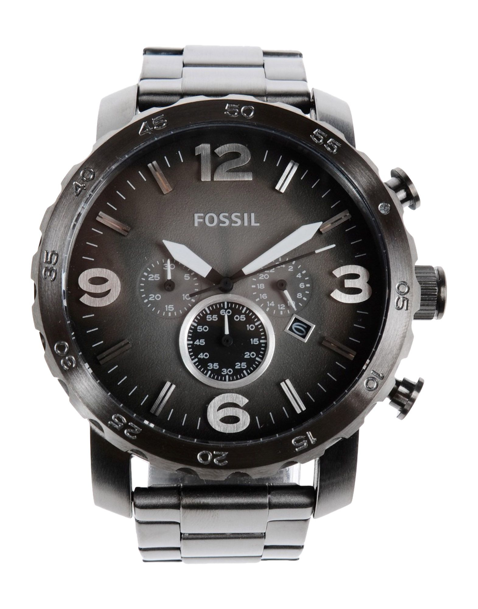 fossil wrist watch in black for men lyst. Black Bedroom Furniture Sets. Home Design Ideas