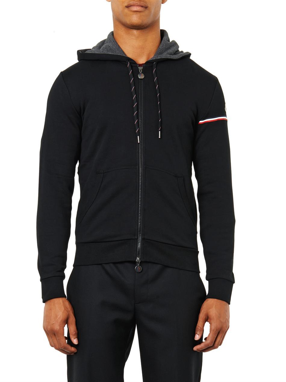 moncler black hoodie