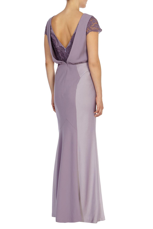 Coast Adelina Maxi Dress in Purple