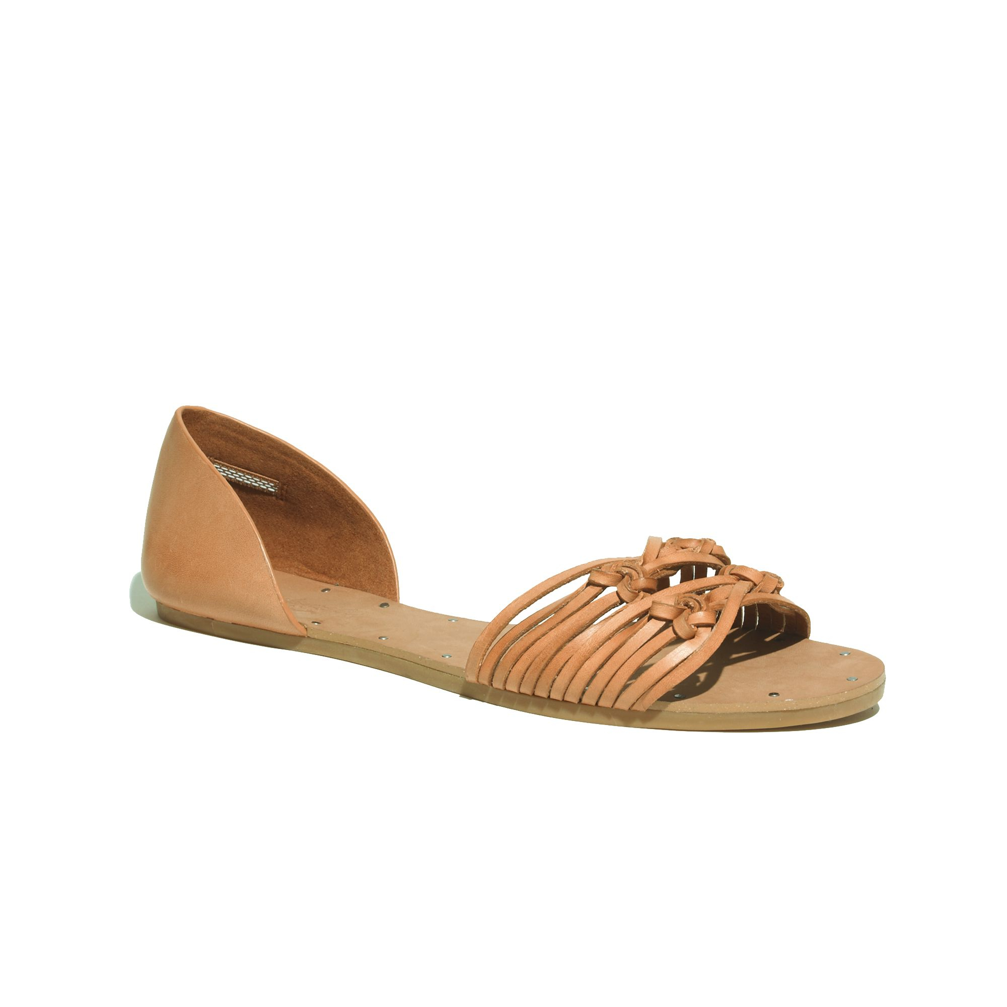 34c36b75d5188e Lyst - Madewell The Knotted Thea Sandal in Pink