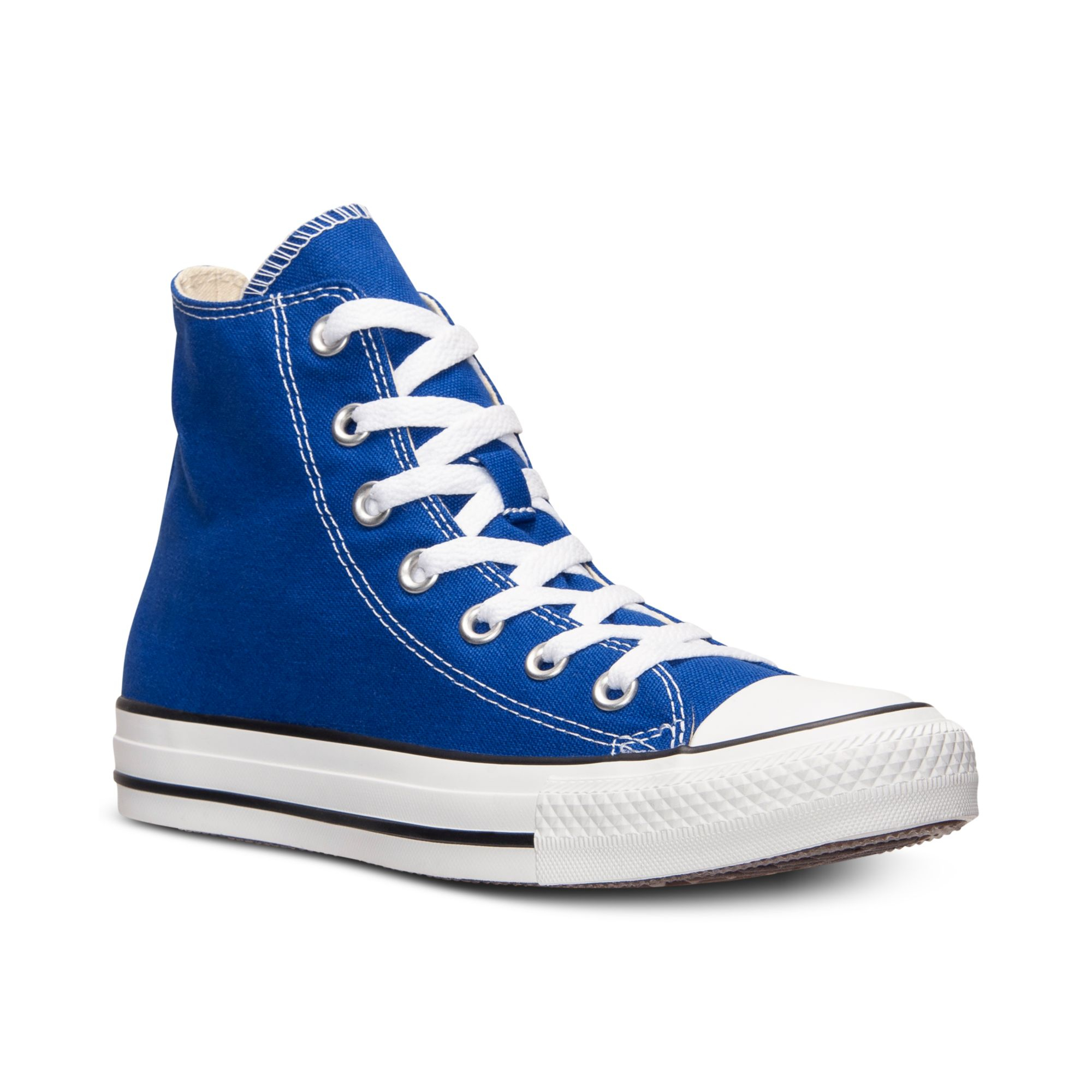 Converse Mens Chuck Taylor High Top Casual Sneakers From ...