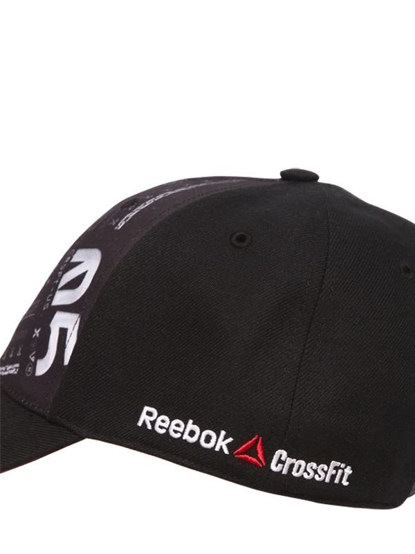 9ac620a8593 Reebok Crossfit Baseball Cap in Black for Men - Lyst