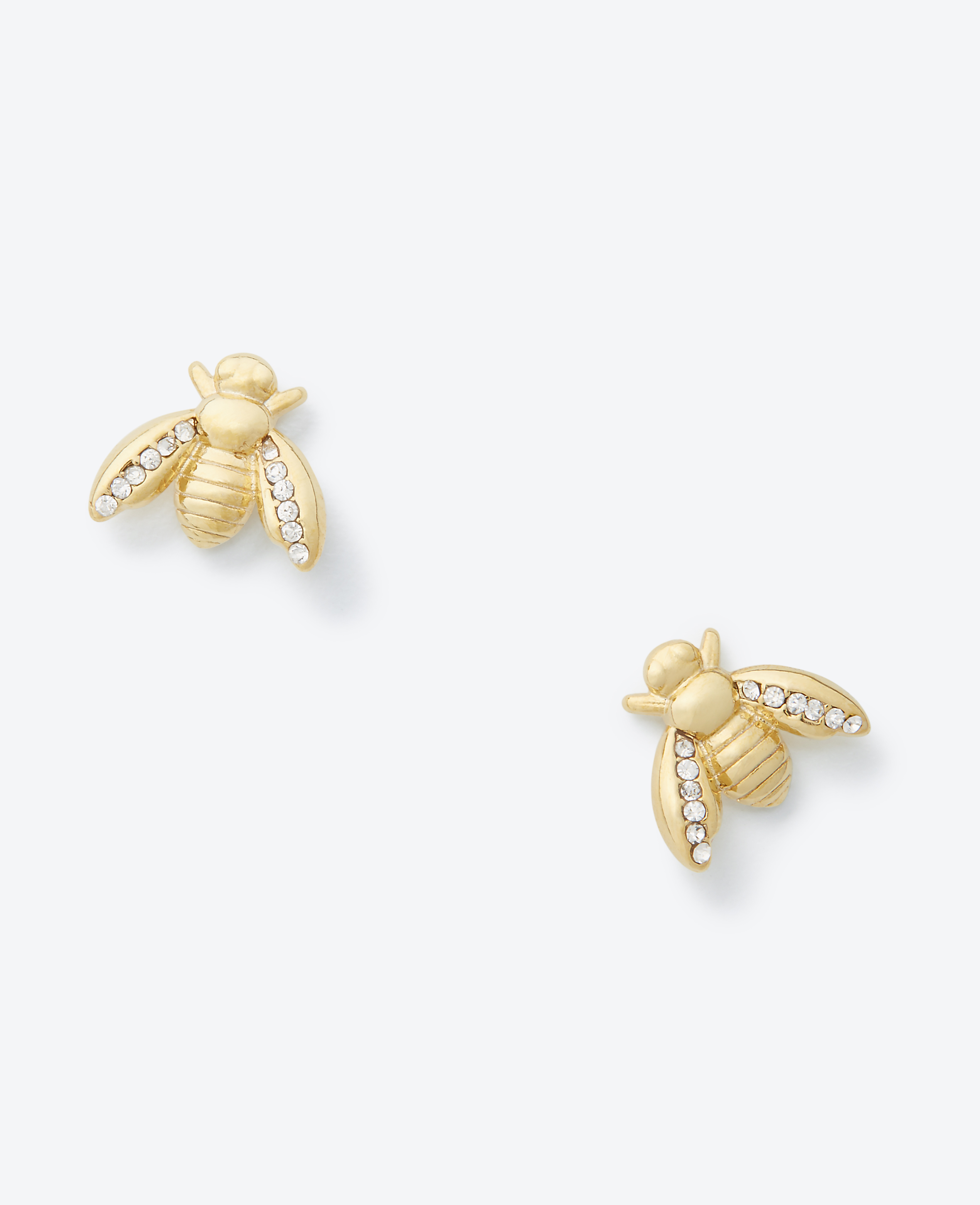 lyst monroe stud alex earrings bee fullscreen honey gold in jewelry metallic plated view