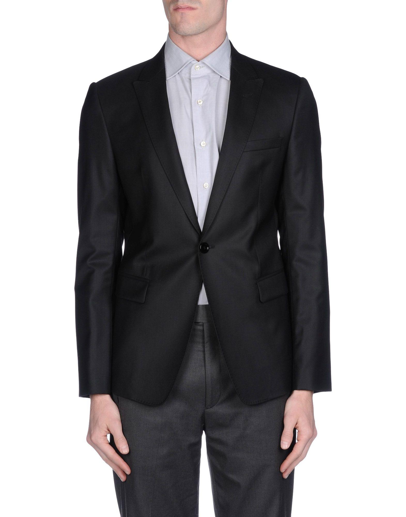 Emporio Armani Blazer In Black For Men Lyst