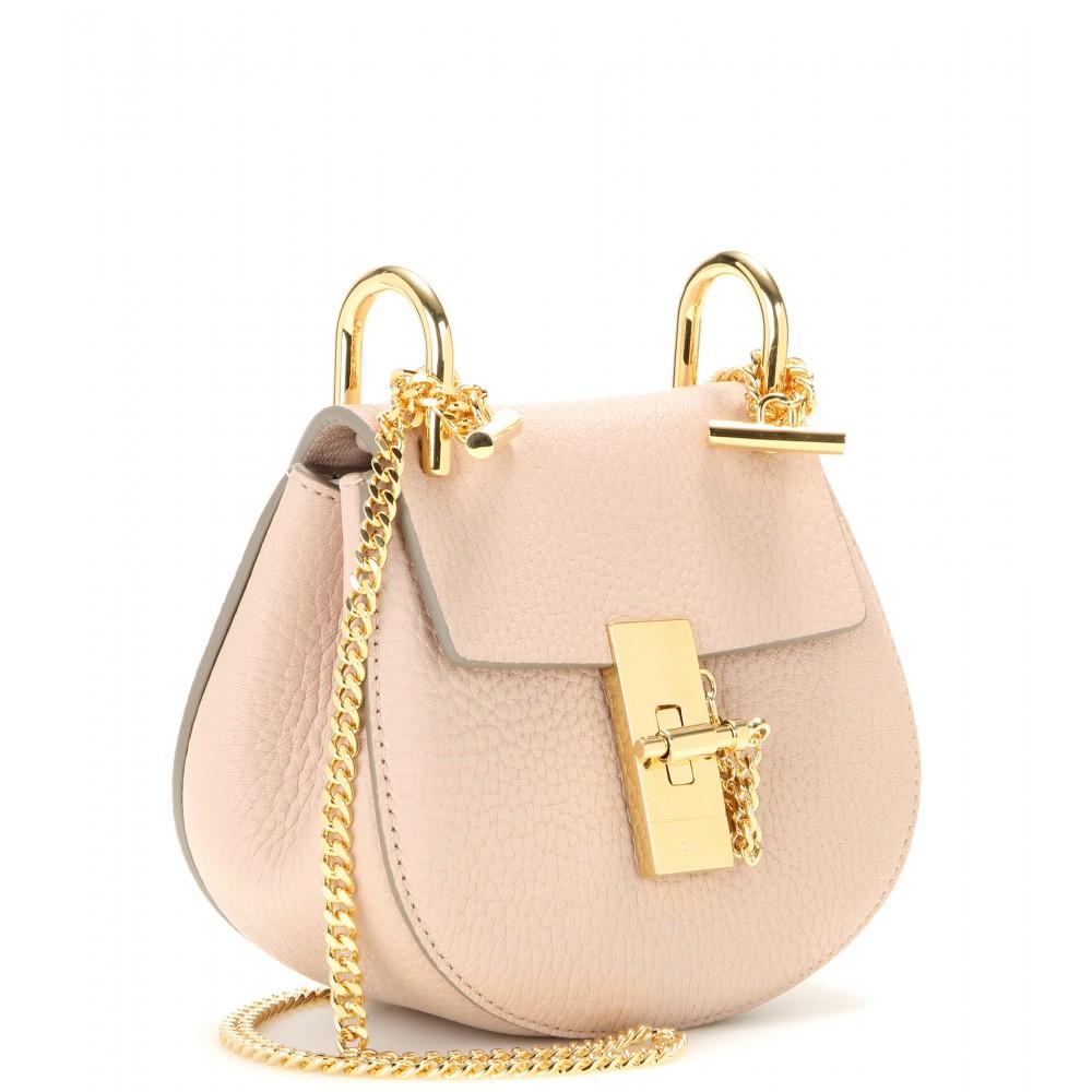 chloe grey bag - chloe hailey nano saddle bag, chloe shopping online