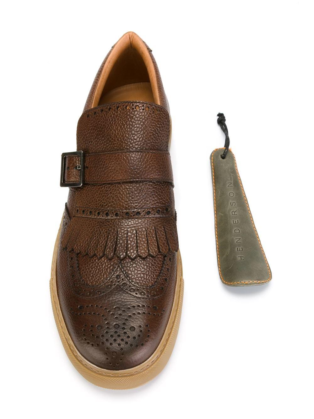 più economico 7ef4f 93bb5 Henderson Brogue-style Sneakers in Brown for Men - Lyst
