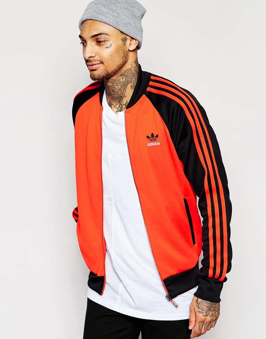 a3fa8e66daf1d3 Lyst - adidas Originals Superstar Track Jacket Aj7002 in Orange for Men