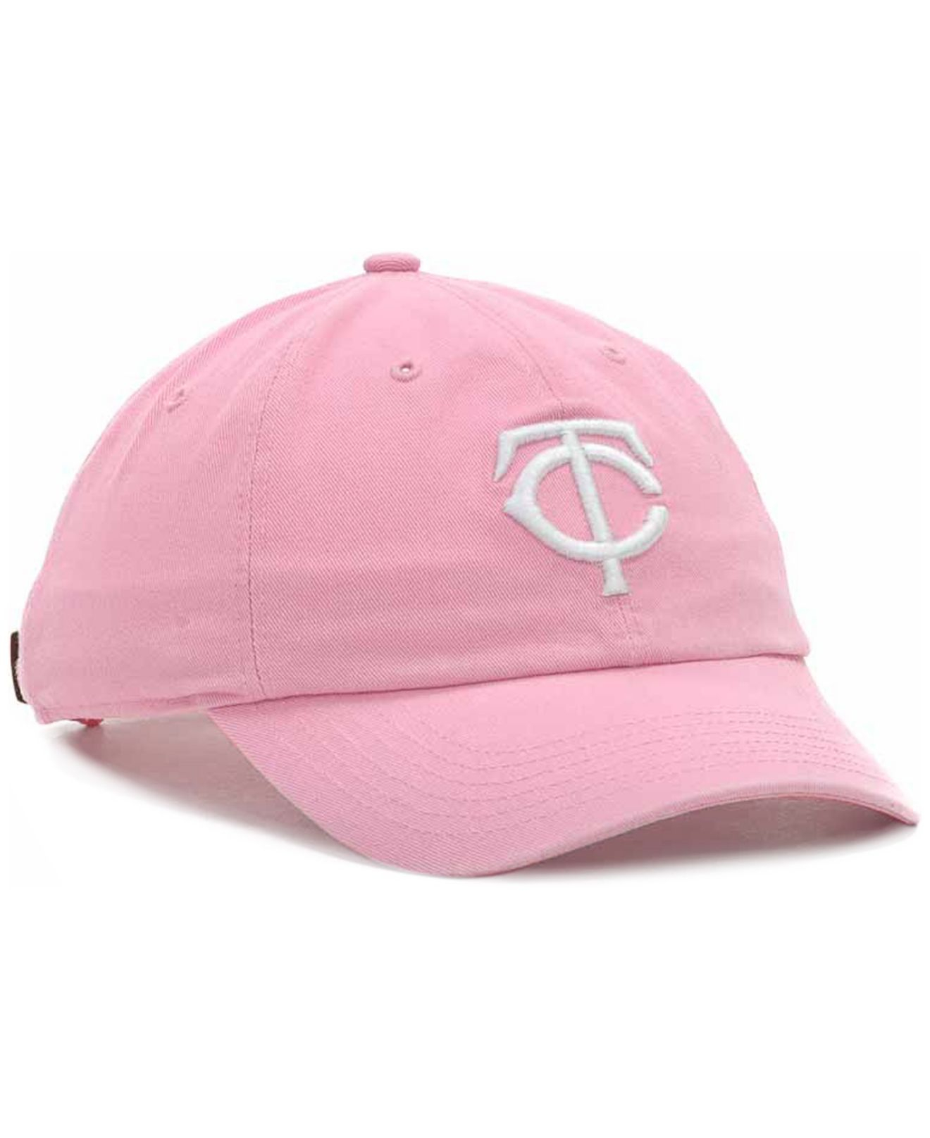 in stock 1749a c1f43 ... hot lyst 47 brand minnesota twins clean up hat in pink for men 6efd2  a6af8