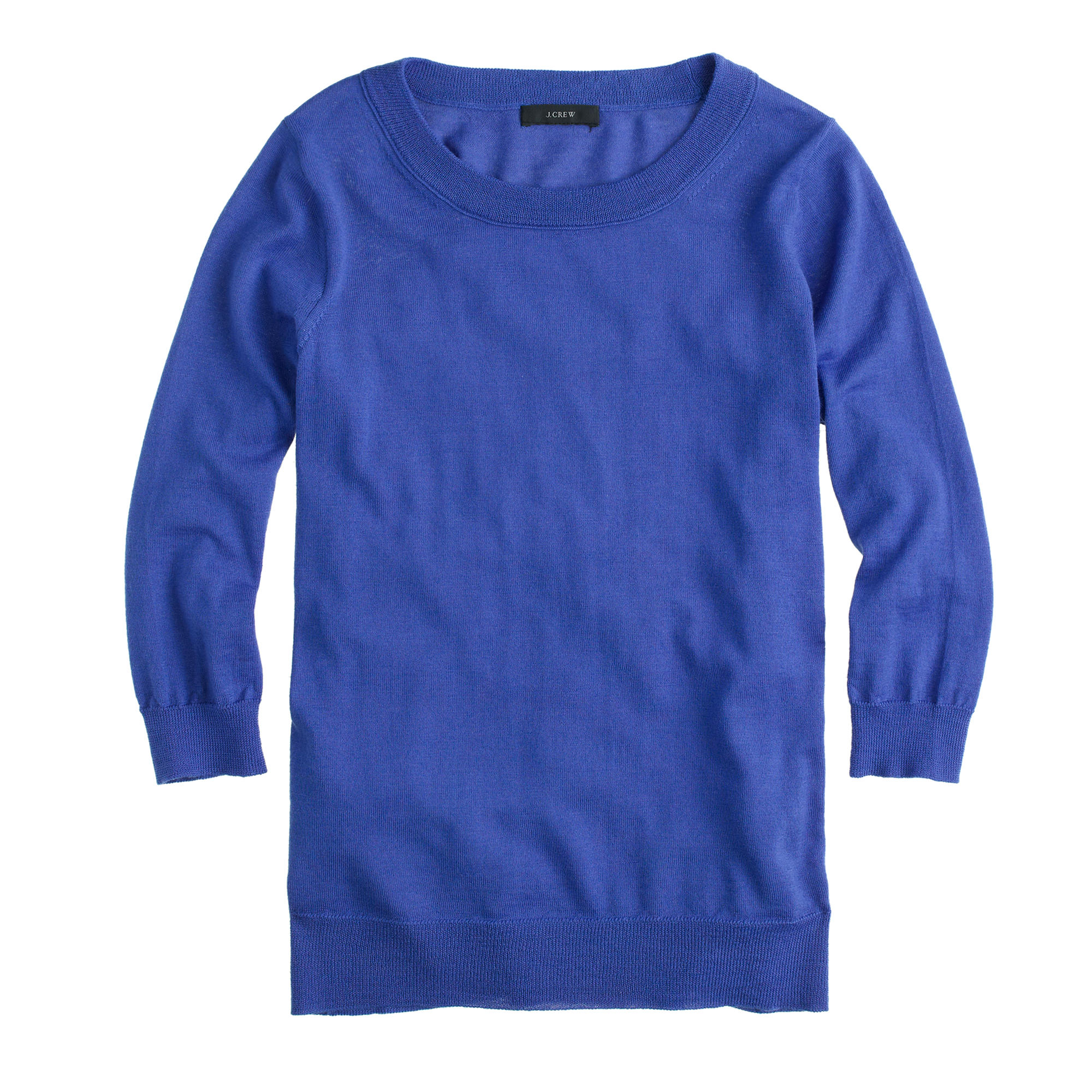 J.crew Merino Wool Tippi Sweater in Blue | Lyst