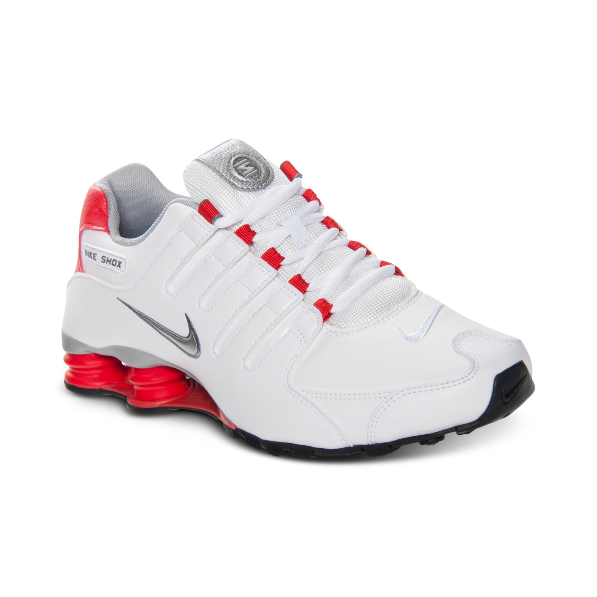 official photos b3734 a4b01 Nike Mens Shox Nz Running Sneakers From Finish Line in White for Men ...