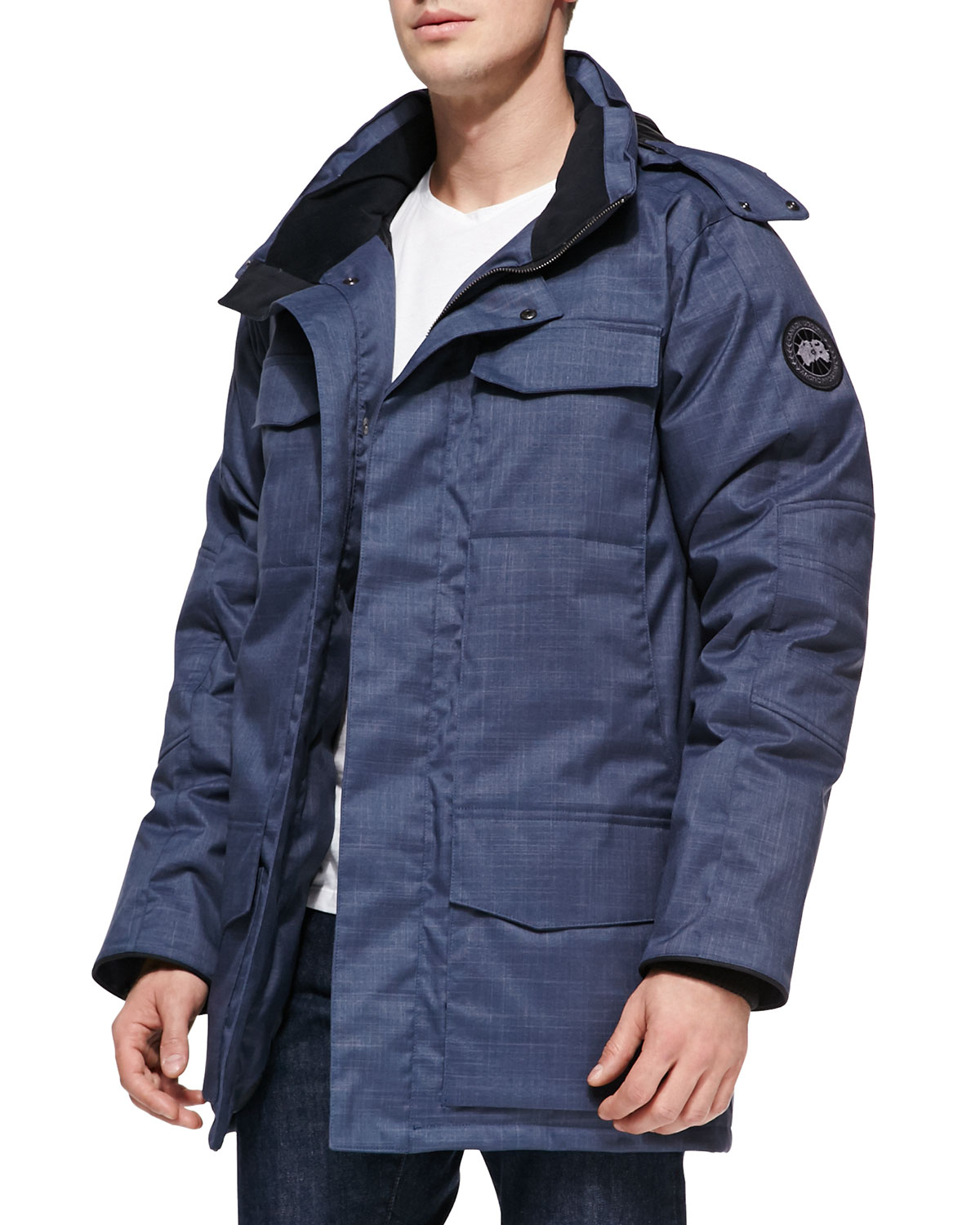 canada goose solid windermere down coat