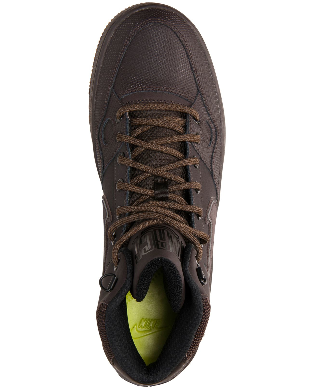 Lyst - Nike Men s Son Of Force Mid Winter Casual Sneakers From Finish Line  in Brown for Men 5f898db27