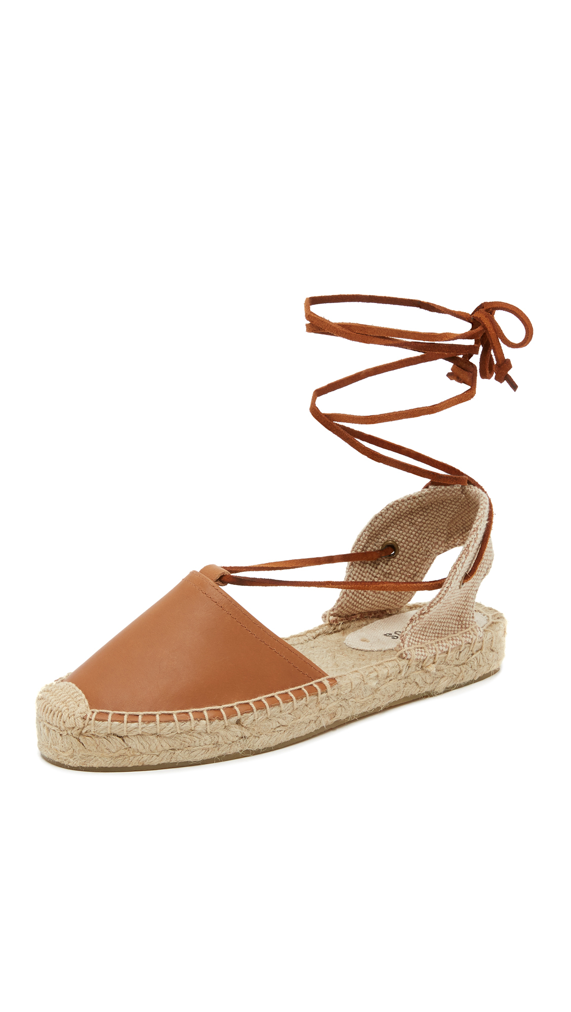 Soludos Women's Lace-Up Espadrille Sandal