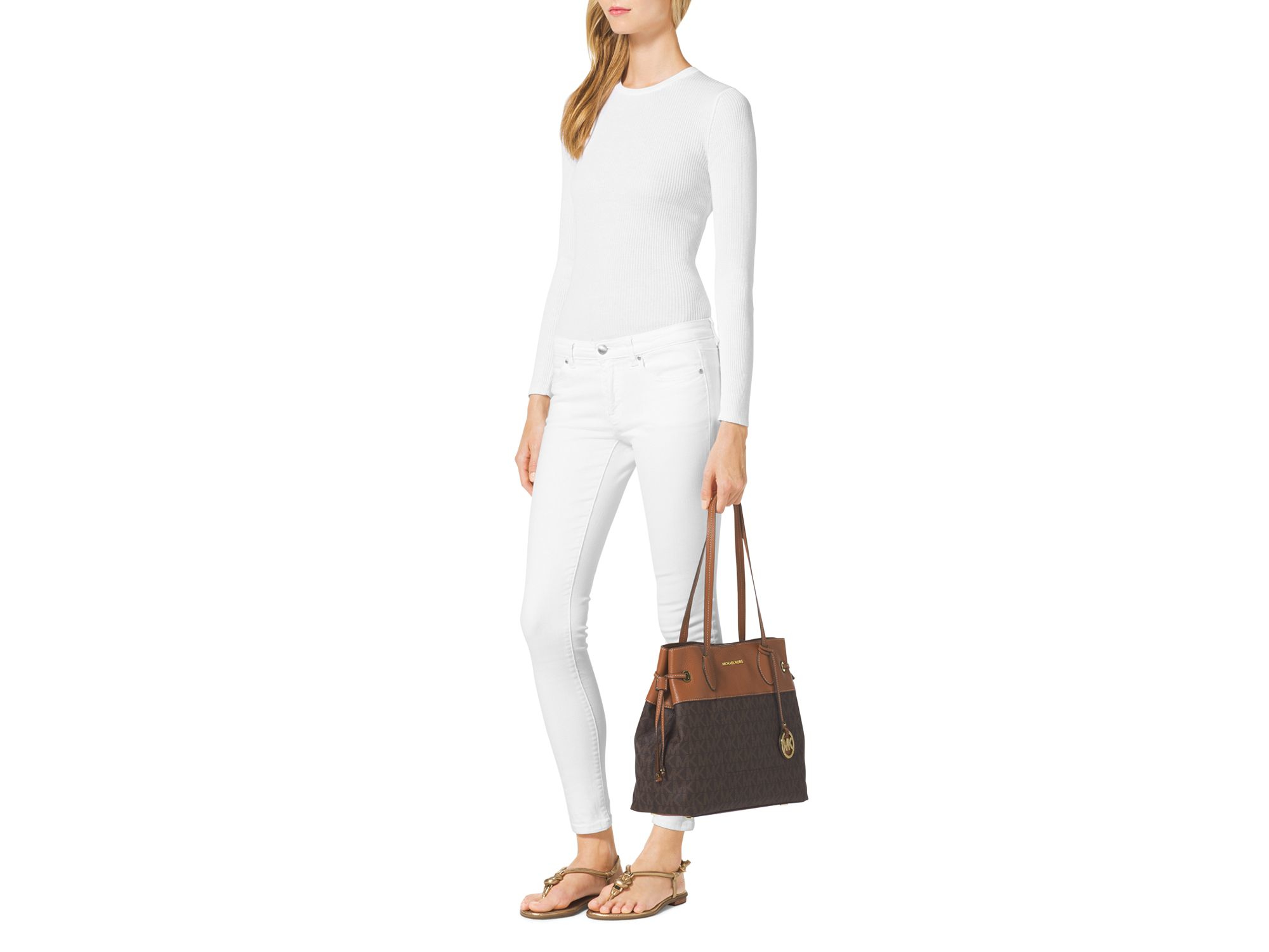 85e1477e2f0b Gallery. Previously sold at: Bloomingdale's · Women's Michael Kors Marina