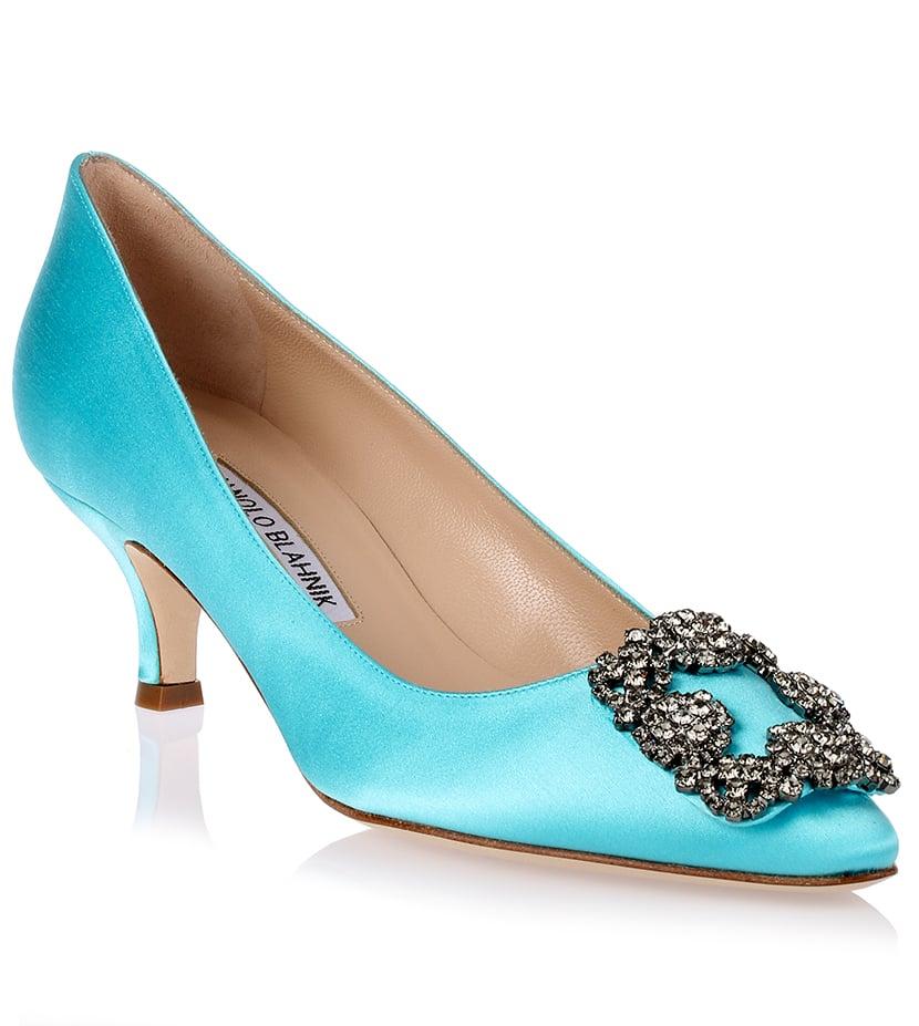 tiffany blue manolo blahnik shoes