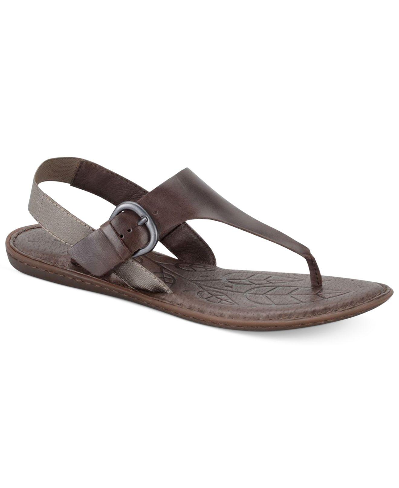 b5645bdc7312d9 Lyst born kasia flat thong sandals in brown jpg 1320x1616 Mens flat born  sandels
