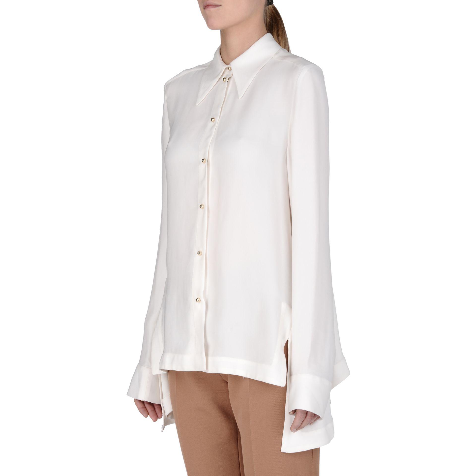 1a73891058dcdf Lyst - Stella McCartney Snow Drop Jones Shirt in White