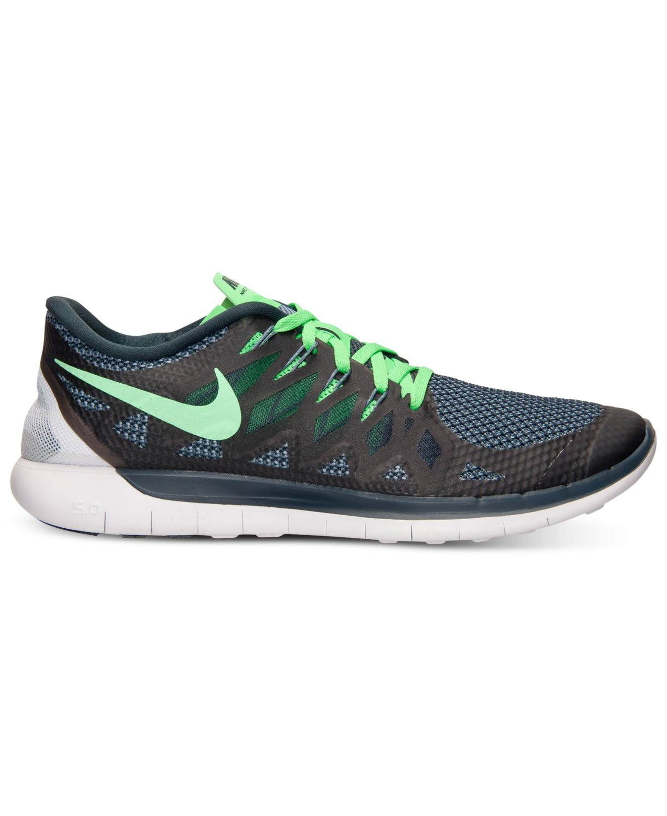 pretty nice a95d5 3ac0c ... nike mens free 5.0 running sneakers from finish line ...