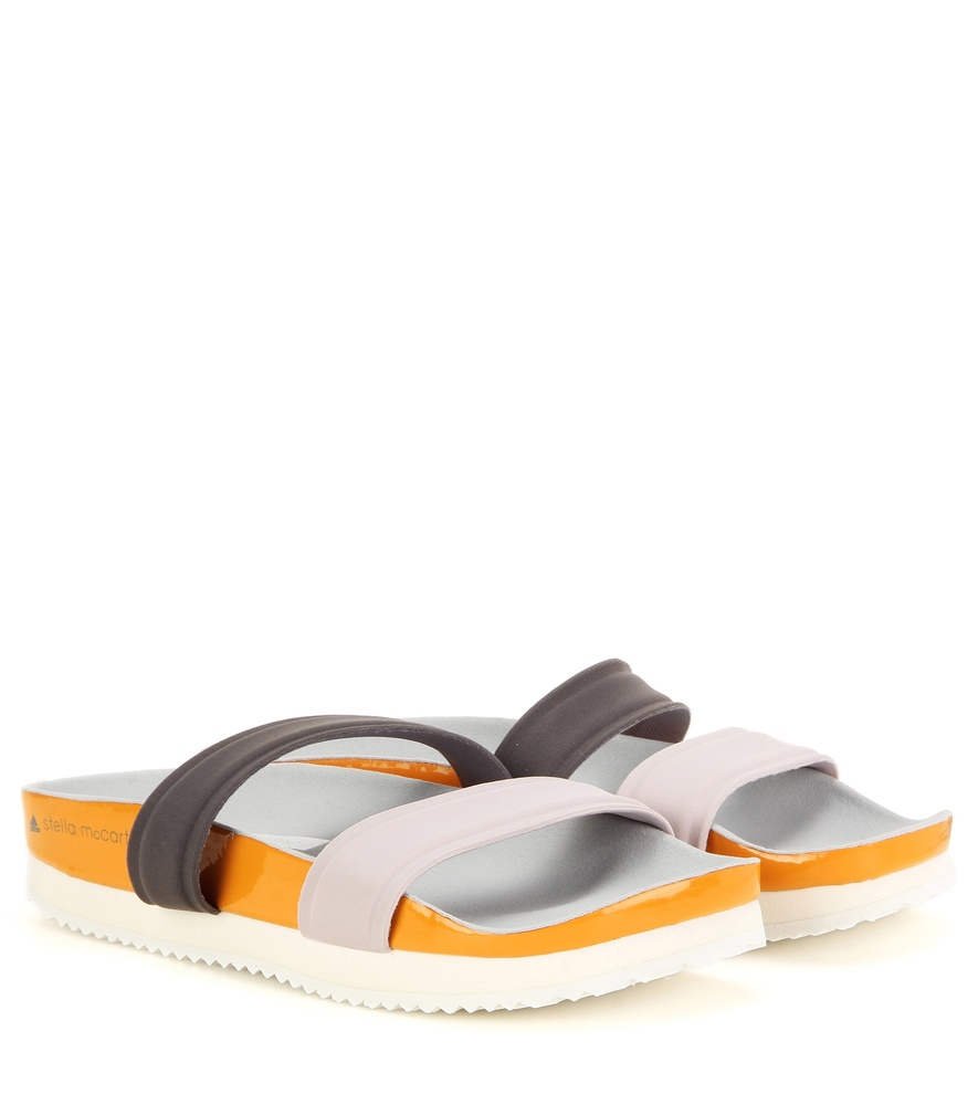 012d5bb2e385 Adidas By Stella Mccartney Diadophis Slip-On Sandals - Lyst