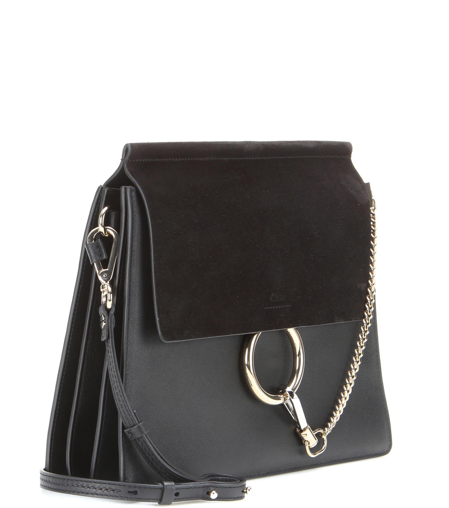 chloe marcie knockoff - chloe faye leather suede clutch bag, gray chloe bag