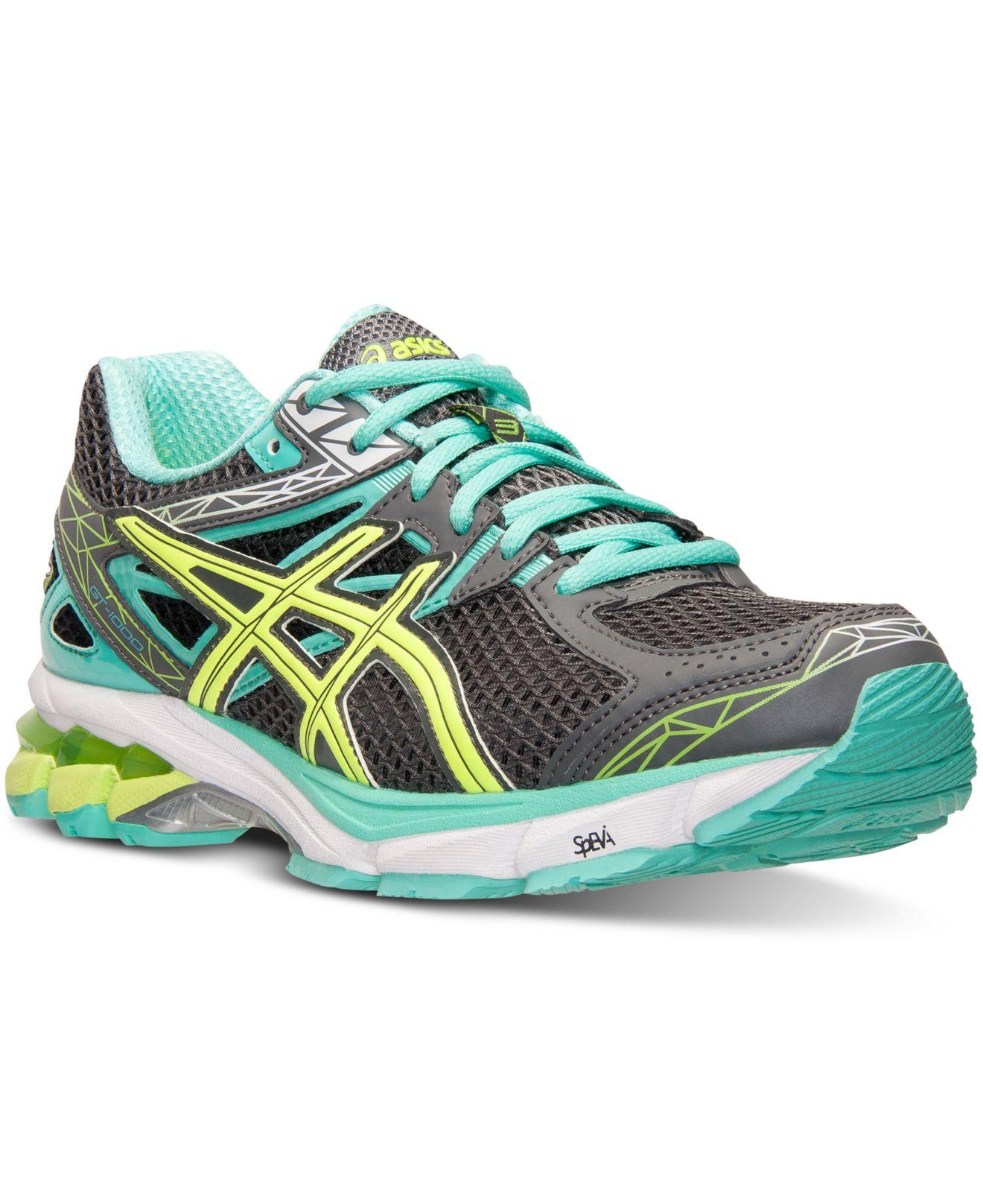 Lyst Asics Women S Gt 1000 3 Wide Width Running Sneakers