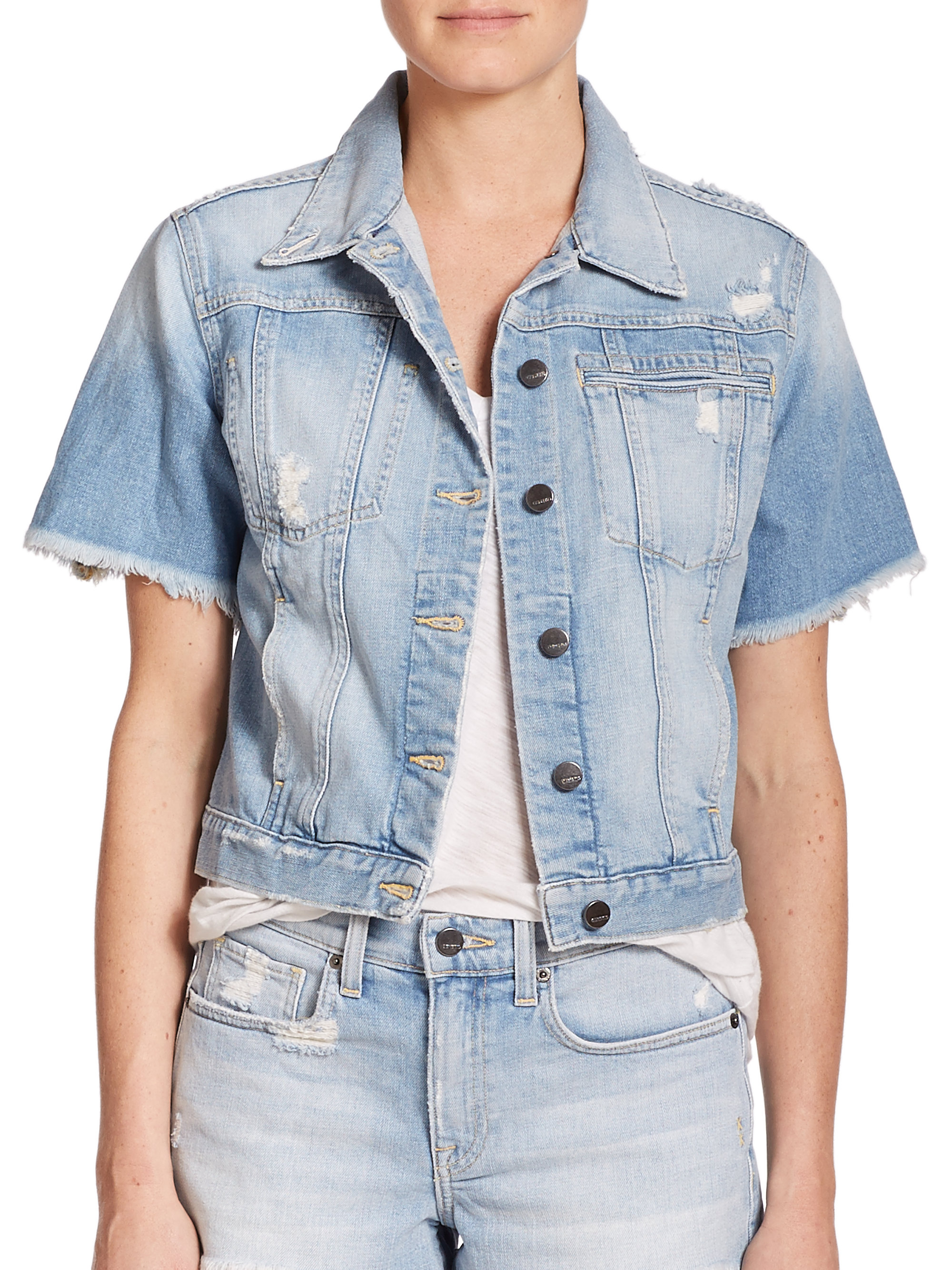 Free shipping BOTH ways on short sleeve jean jacket, from our vast selection of styles. Fast delivery, and 24/7/ real-person service with a smile. Click or call