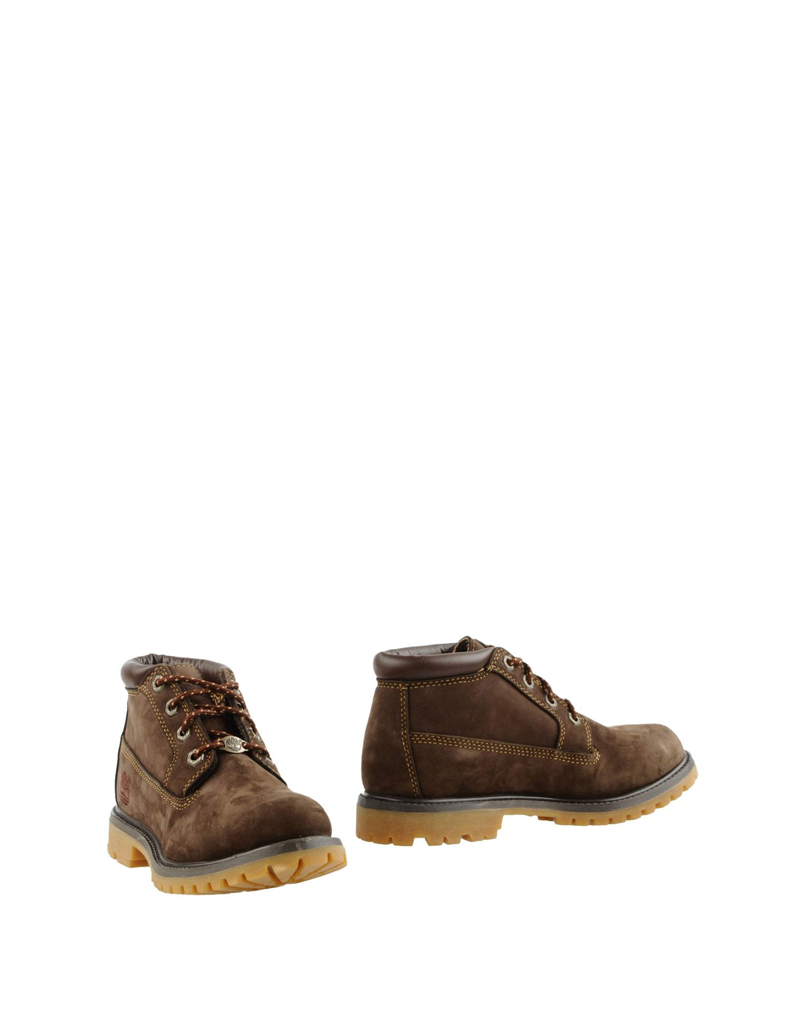 timberland ankle boots in brown lyst