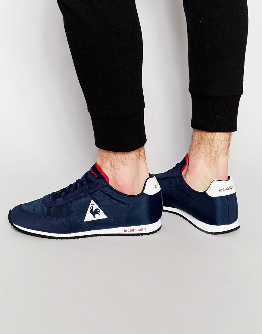 bab3ae454006 Lyst - Le Coq Sportif Racerone Classic Trainers in Blue for Men