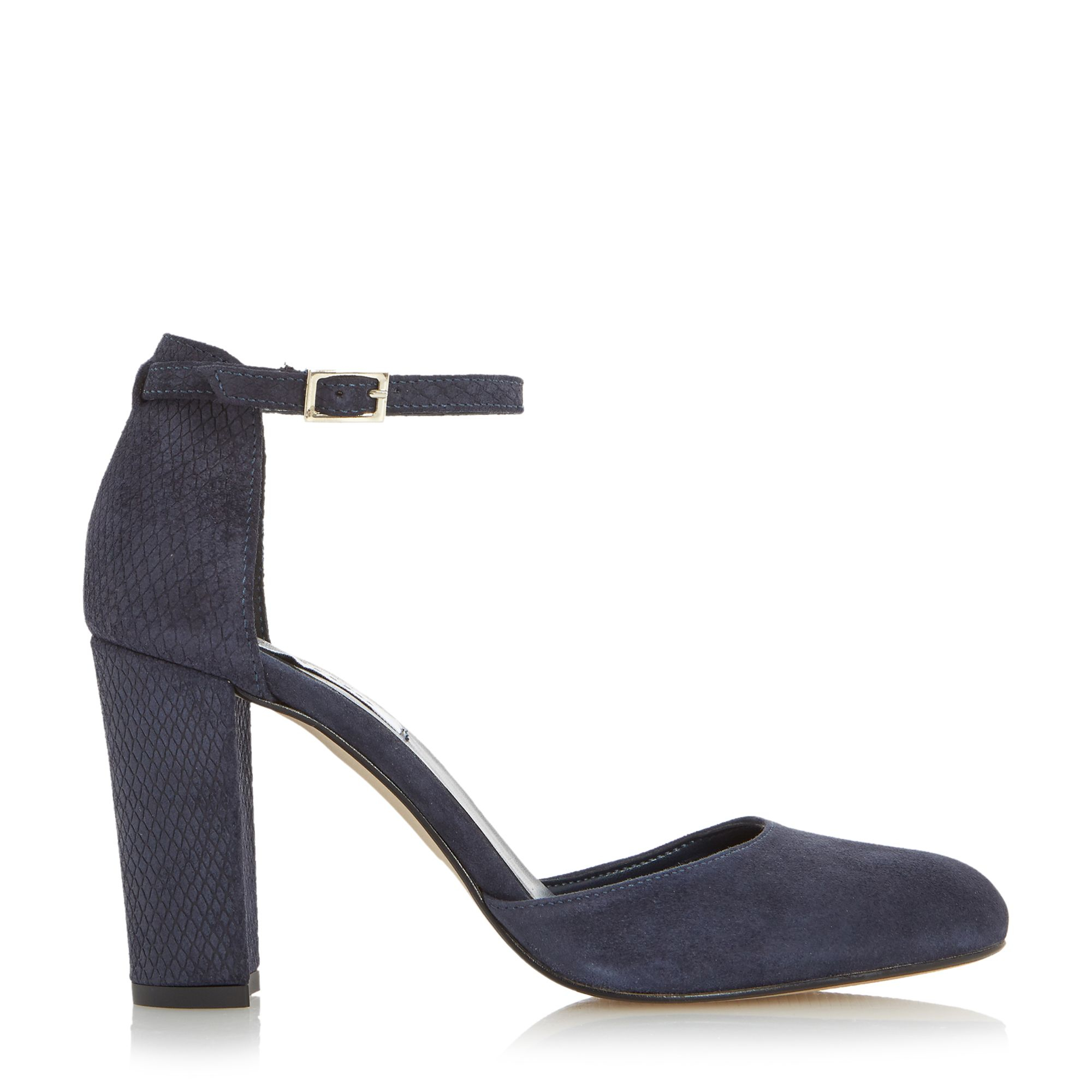 Dune Navy Court Shoes