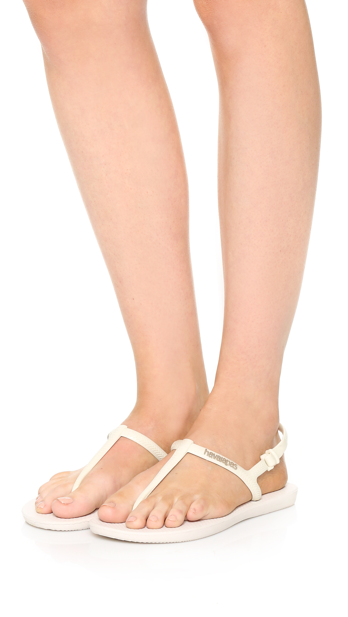 10326d60971a89 Lyst - Havaianas Freedom Sandals in White