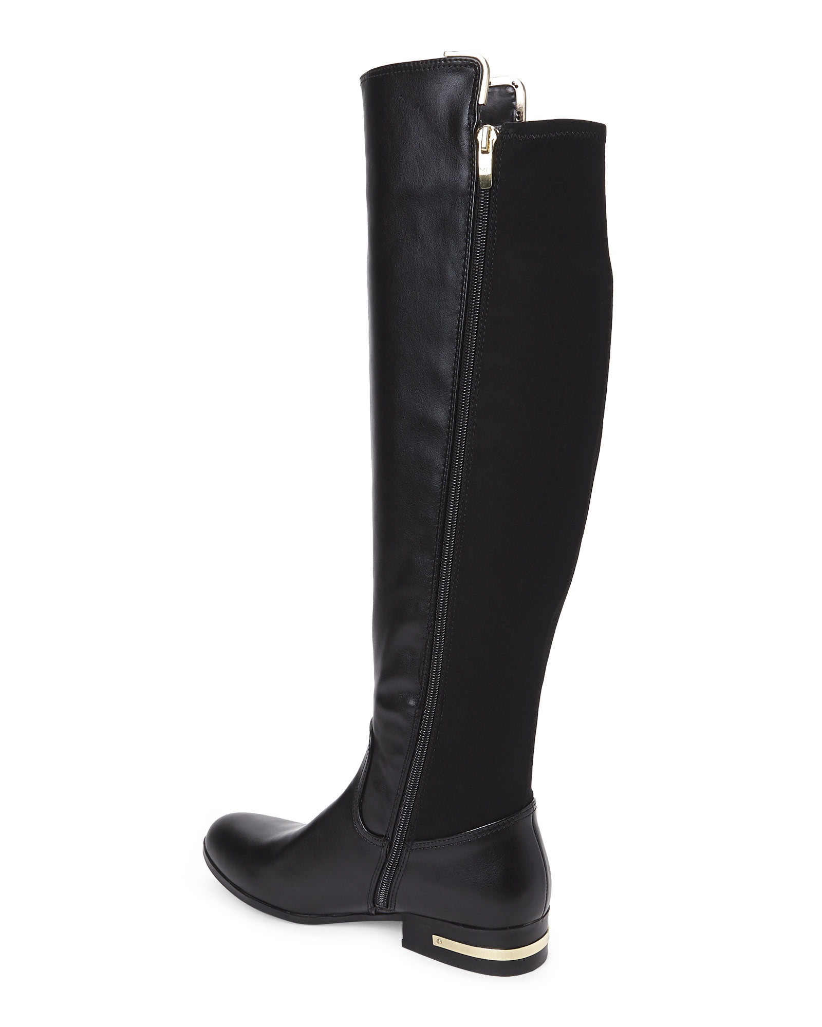 Marc fisher Phoenix Tall Riding Boots in Black | Lyst