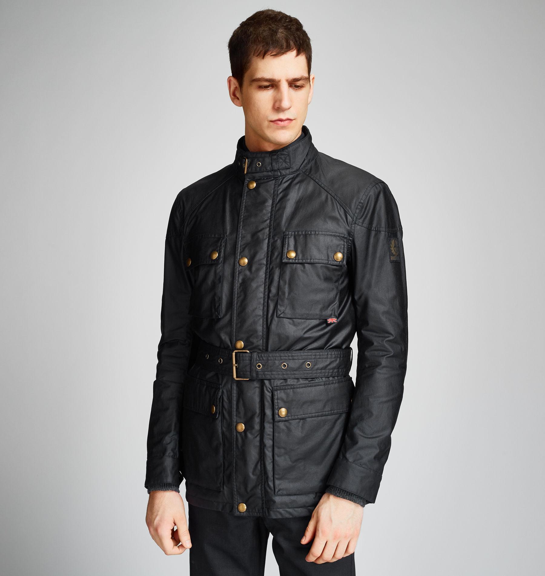 3d1afbf127 Belstaff Streetmaster Jacket in Blue for Men - Lyst