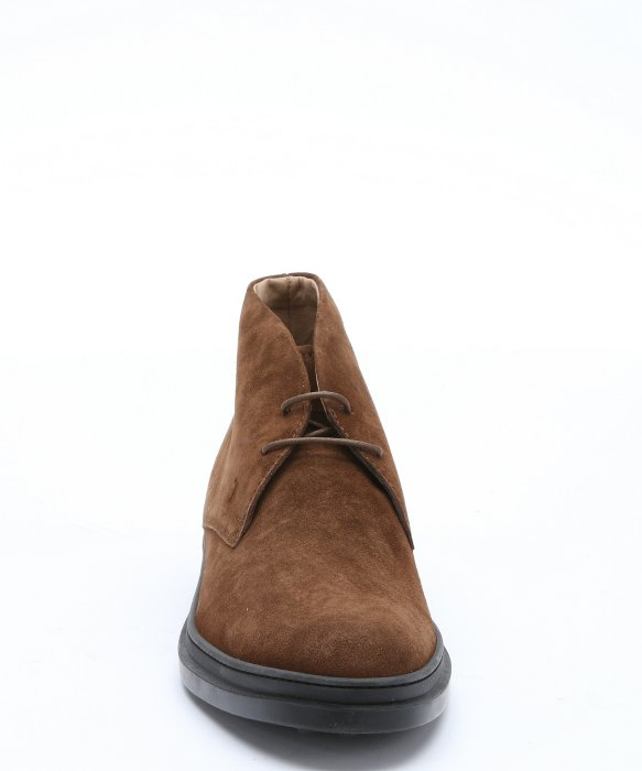 Tod's Brown Suede Lace-up Chukka Boots in Brown for Men | Lyst