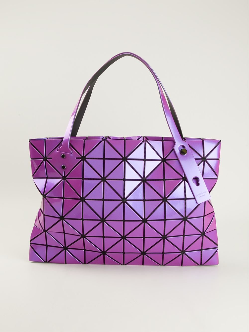 Lyst - Bao Bao Issey Miyake Prism Tote in Purple