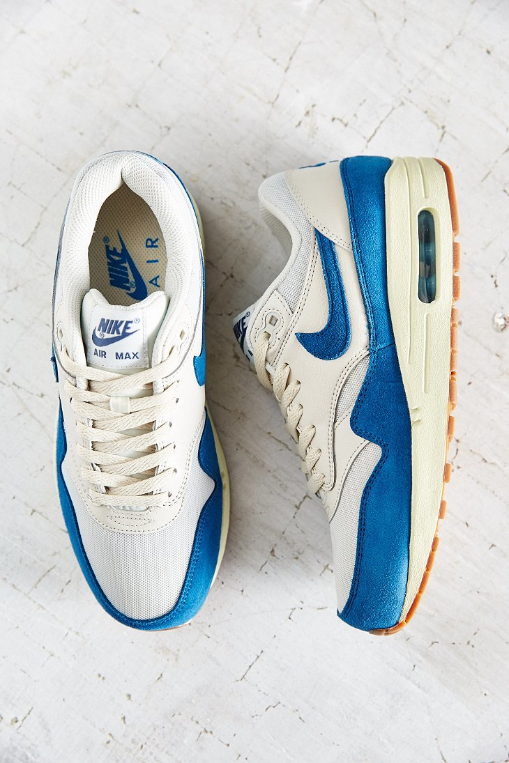 nike air max 1 essential sneaker blue multi