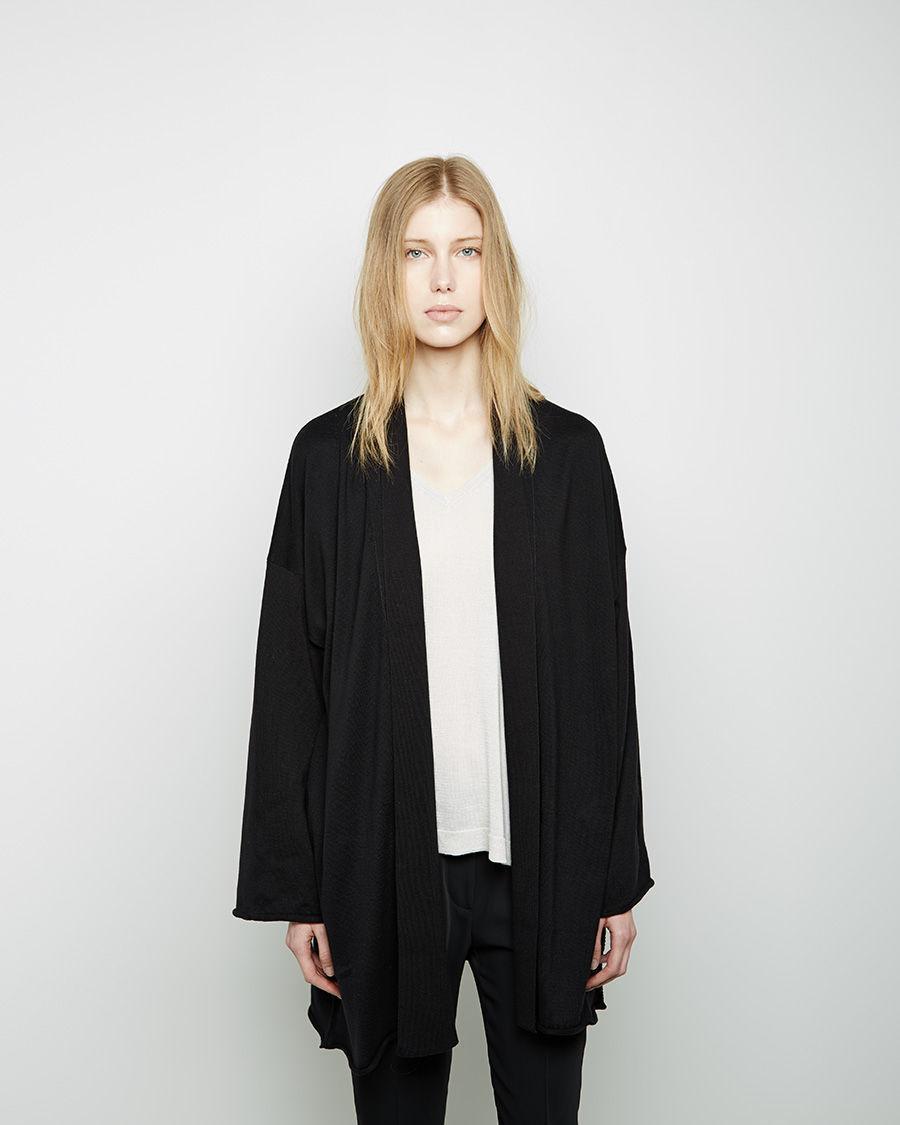 Lyst - Mm6 By Maison Martin Margiela Obi Robe in Black